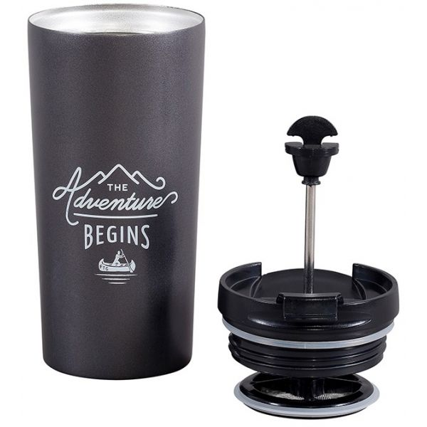 Gentlemen's Hardware - Travel Coffee Press Adventure krus