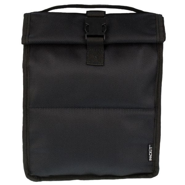 Packit Freezable Rolltop Lunch Bag - Sort